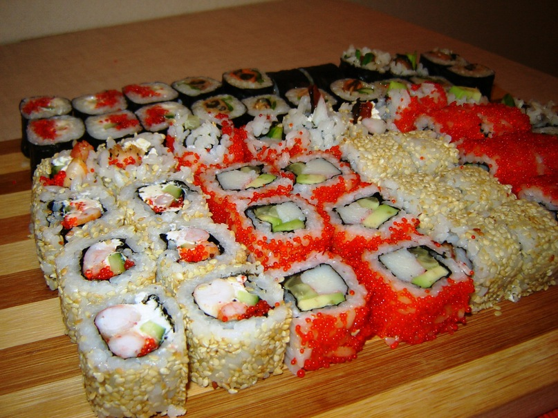 Как сделать суши и роллы дома видео ветром